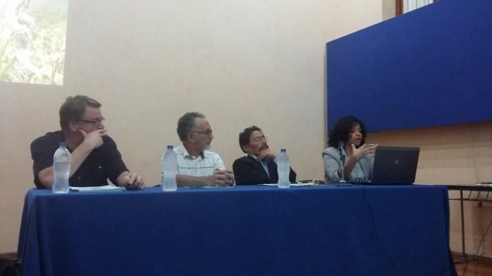 Gunther Dietz, Edgar González, Mario Yapu y Shantal Meseguer