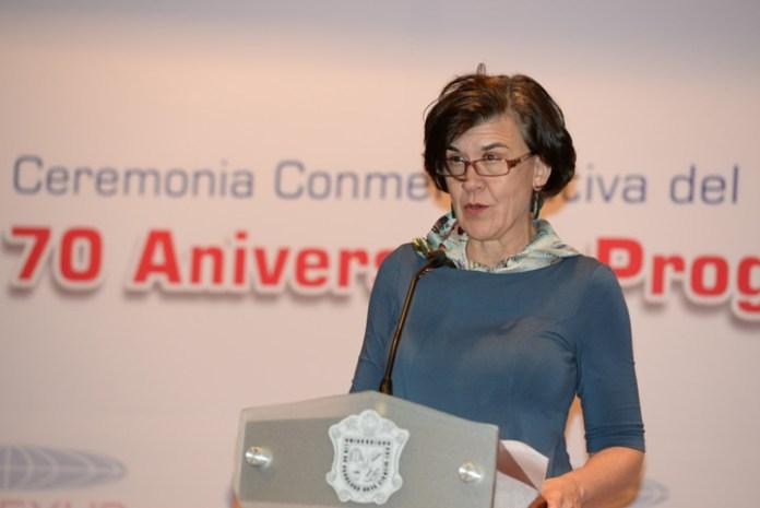 Rebecca Brown Thompson dijo que las aportaciones de los ex becarios han cambiado el curso de la relación México-EEUU