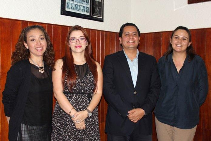 Patricia Arieta, Rosa María Madrid, Rogelio Ladrón de Guevara y Natalia Murrieta