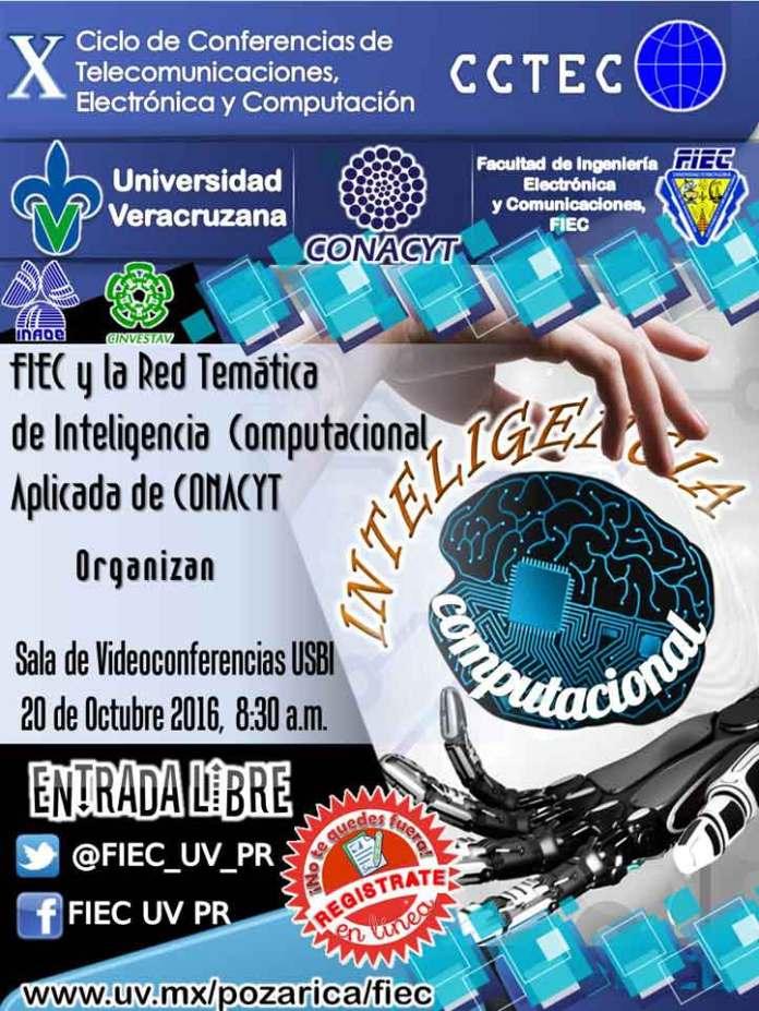 Cartel conmemorativo al 10º Ciclo de Conferencias organizado por la FIEC en Poza Rica