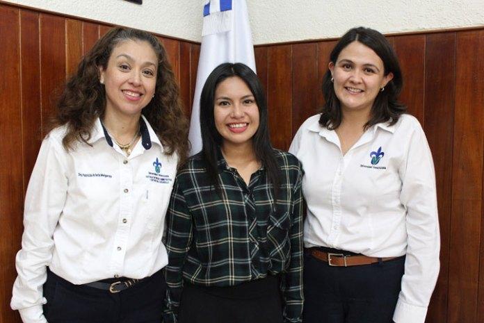 Patricia Arieta Melgarejo, Itzel Abigail Herrera Gómez y Natalia Murrieta