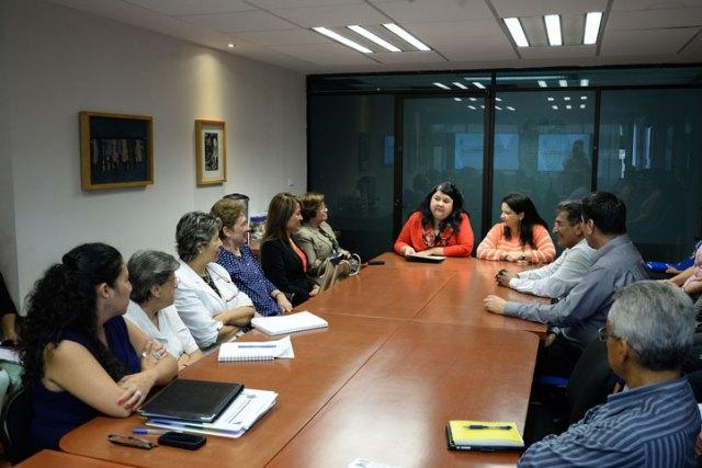 Clementina Guerrero García, dio la bienvenida a autoridades universitarias de Ecuador, República Dominicana y Colombia.