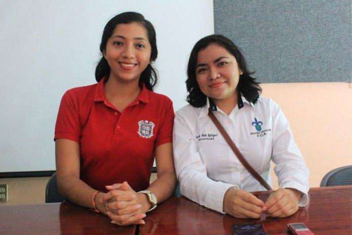 María Guadalupe Palacios e Itzayana Mota