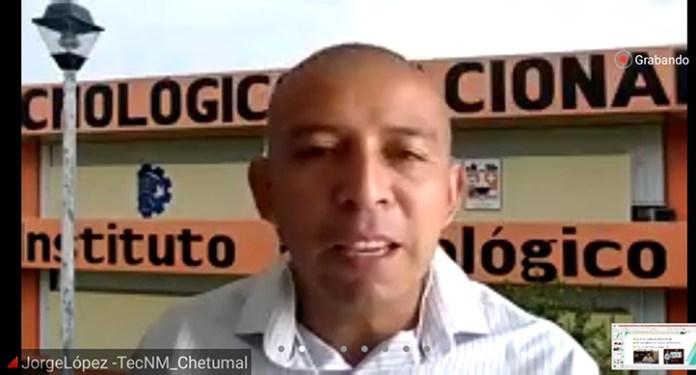 Jorge López, del Instituto Tecnológico de Chetumal