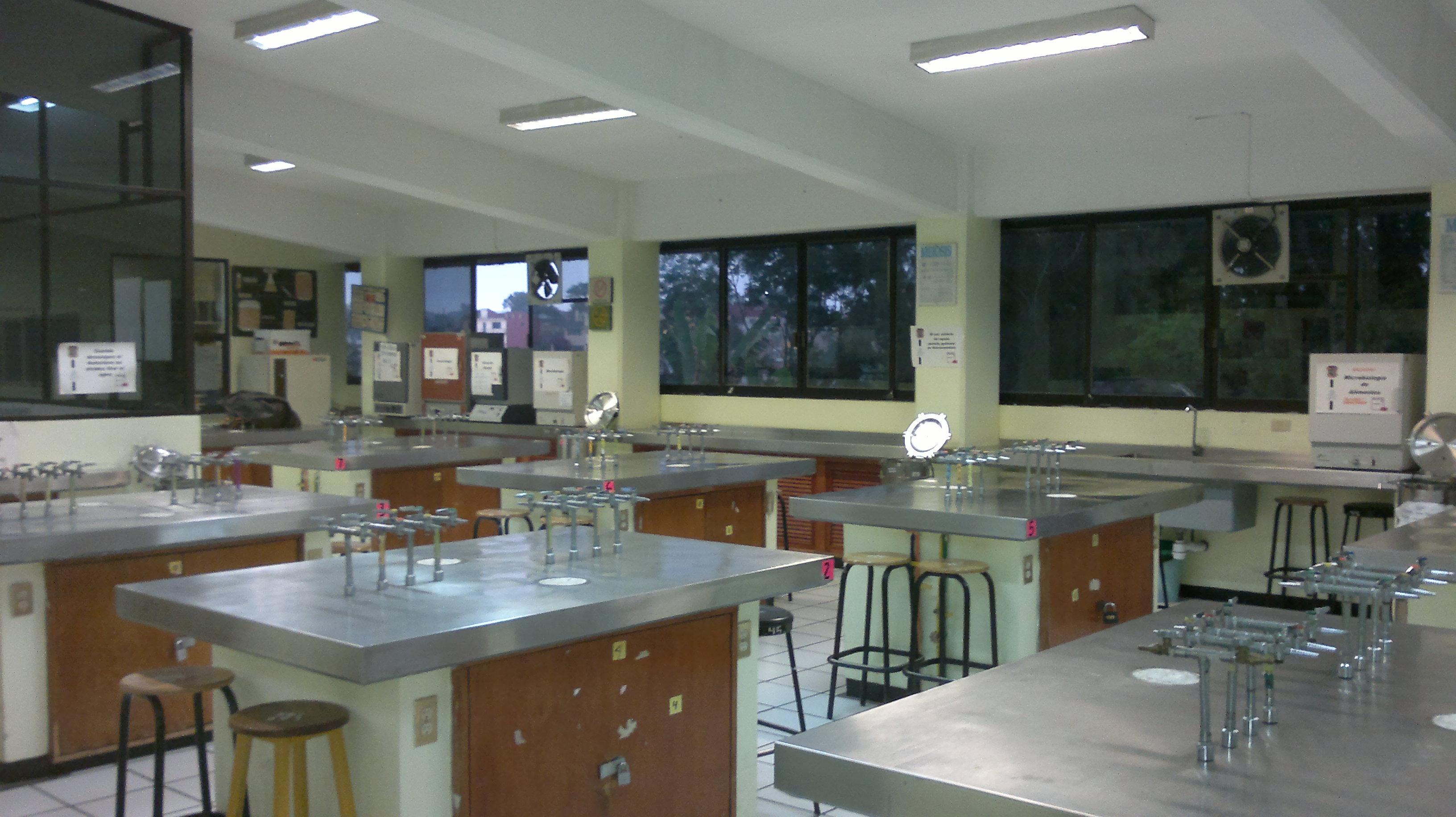 Instalaciones  Facultad de Qumica Farmacutica Biolgica