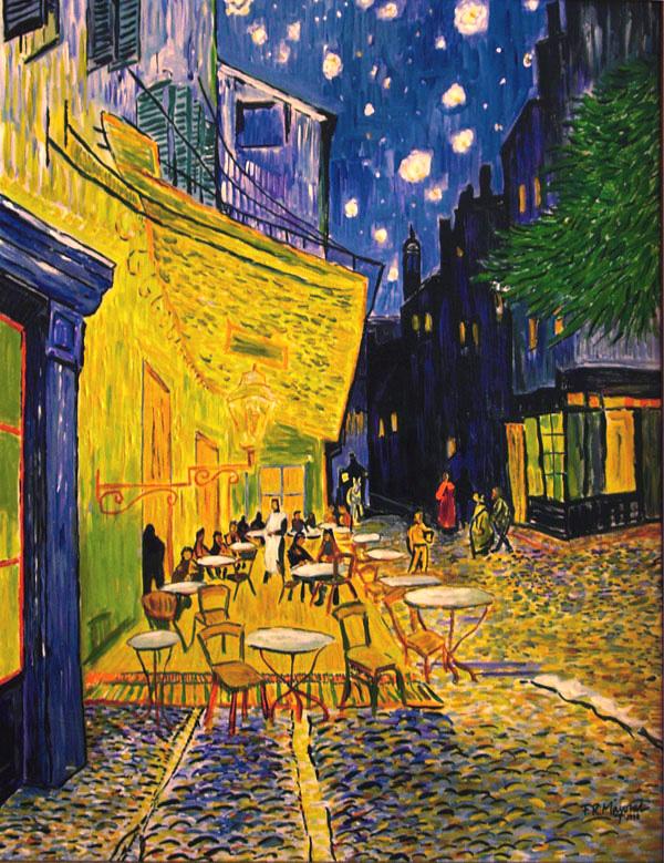 Paintings La Noche Estrellada