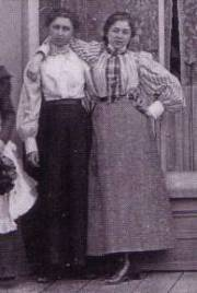women's clothing - 1890s