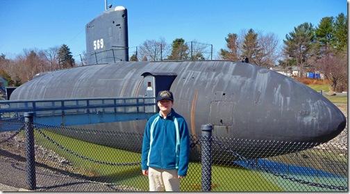 USS Albacore - starboard side