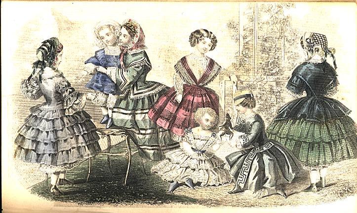 Greenberg Godeys Ladys Book Color Illustrations