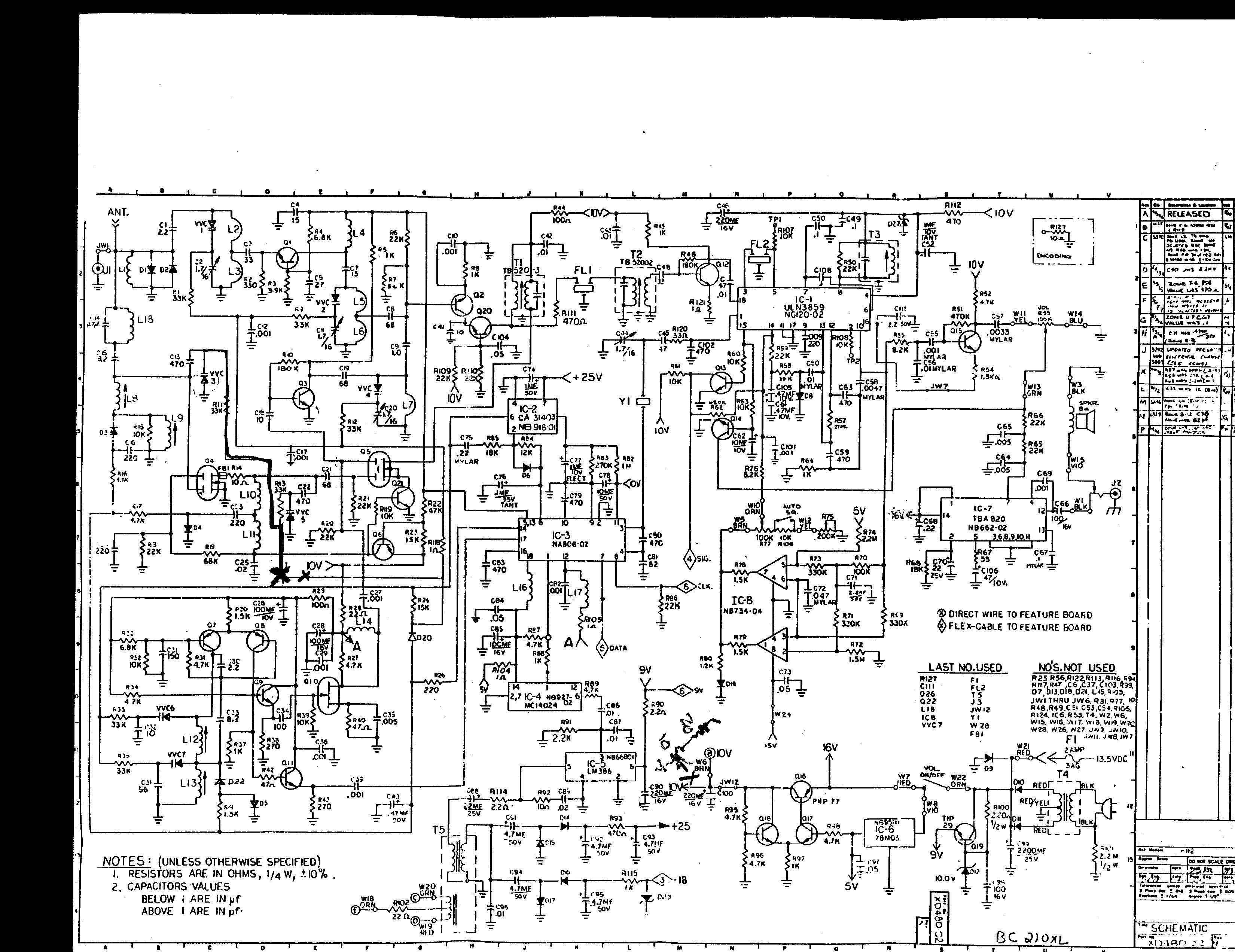 Copper Talk: Bearcat 210 Scanner