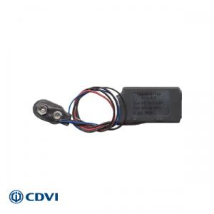 CDVI bedrade zender 1-kanaals 433 Mhz - 9V