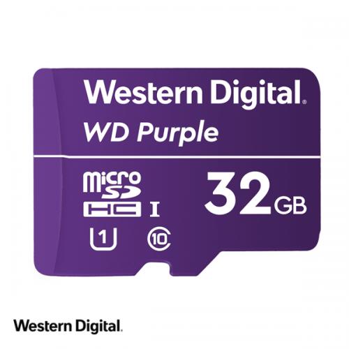 WD Purple 32GB microSDHC card