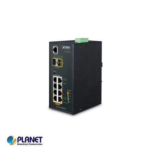 Planet Industrial  4-Port PoE + 4-Port  + 2-Port SFP