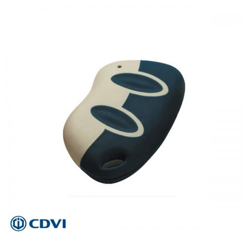 CDVI mini handzender 2-kanaals 433