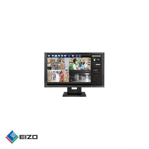 "Eizo DuraVision 23"" full HD professional IPS ONVIF IP monitor Zwart"