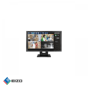 "Eizo DuraVision 23"" full HD professional IPS ONVIF IP monitor Zwart"