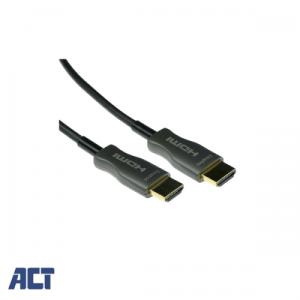 ACT 15 meter HDMI Hybride HDMI-A male - HDMI-A male