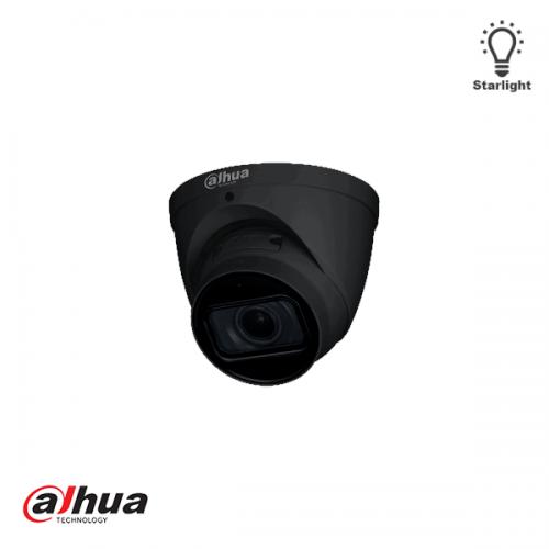 Dahua 5MP Motorized 2.7-13.5mm IR Dome Camera ZWART