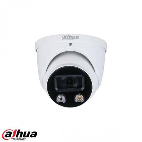 Dahua 4MP TiOC Full-color Active Deterrence Fixed-focal Eyeball WizSense Network Camera 2.8mm