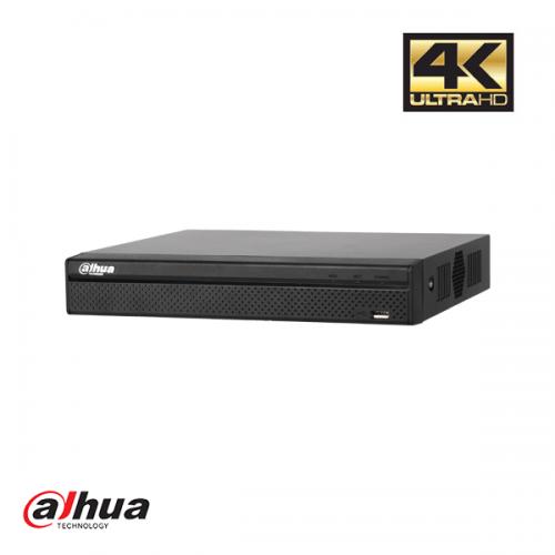 Dahua 8 kanaals Compact 1U 8PoE 4K&H.265 Lite Network Video Recorder incl 2TB HDD