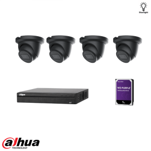 Dahua 5MP AI kit Zwart