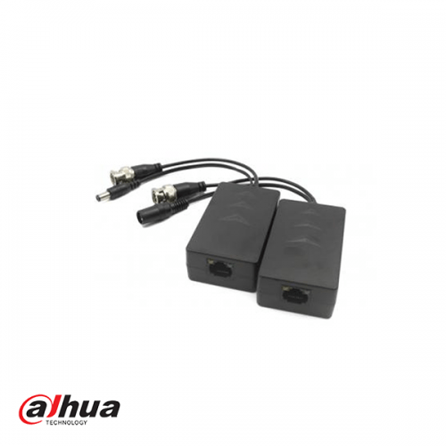 Dahua 1 Channel 4MP Passive HDCVI Balun with Power