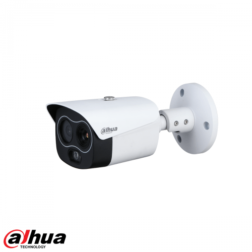 Dahua 4MP Thermal 256x192 Network Mini Hybrid Bullet Camera (Thermal: 3.5mm / Visual: 4mm)