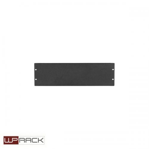 WP Blindpaneel 3HE zwart RAL9005