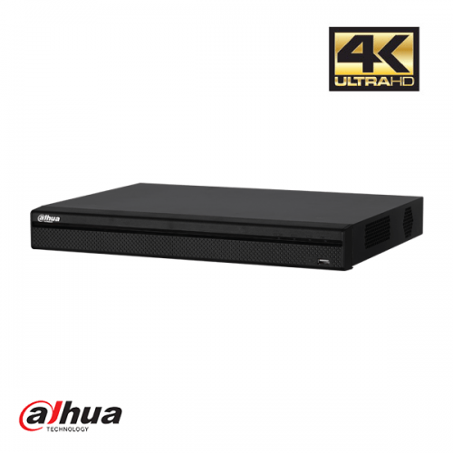 Dahua 8 Channel Penta-brid 4K 1U Digital Video Recorder 8 PoC incl 2TB HDD