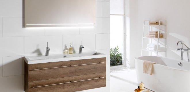 Voorbeelden van badkamermeubels functioneel  stijlvol