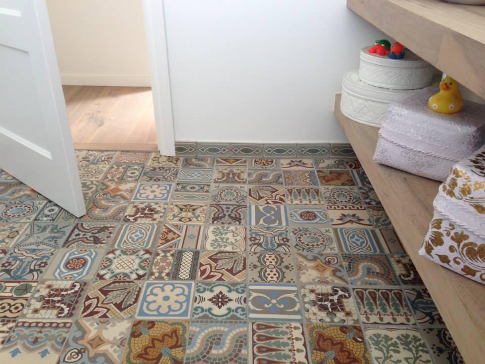 Floorz Patchwork antieke motieftegels  Product in beeld