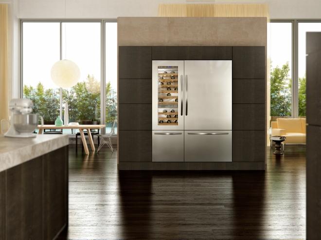 KitchenAid Vertigo koelkast en wijnkoeler  Product in