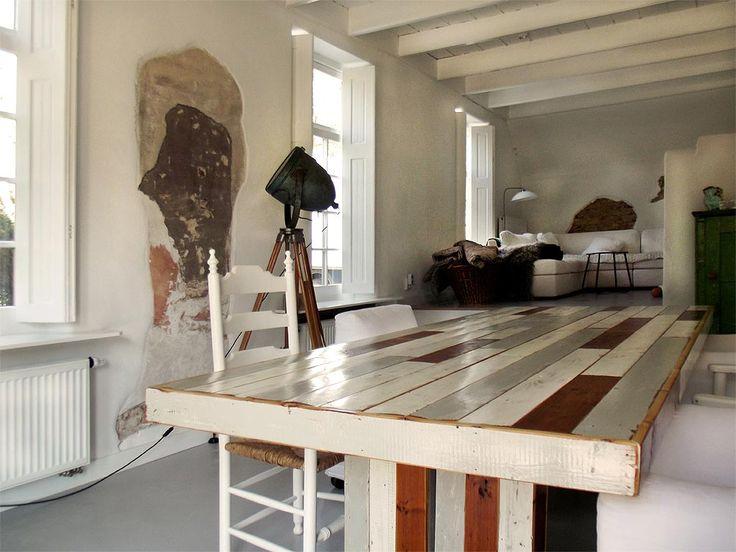 RestyleXL oud houten tafels  Product in beeld