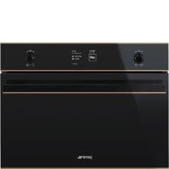 Kitchen Aid Electric Range Rustic Cabinets Smeg Dolce Stil Novo Oven Met Koper Accenten - Product In ...