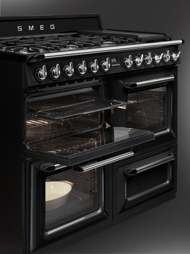 kitchen aid ovens cheap carts sale smeg fornuis victoria tr4110 - product in beeld ...