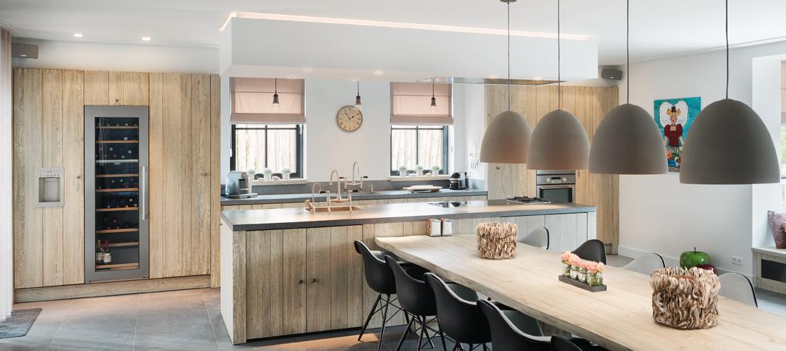 Keukeninspiratie houten keukens met eiland  Nieuws