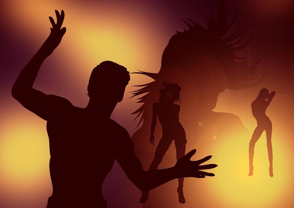 男性 女性 セクシー ダンス