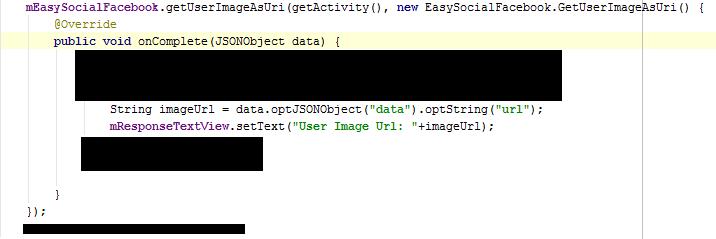 Developer caller code.