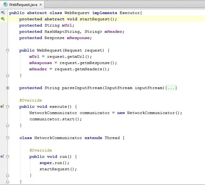 WebRequest Class code.