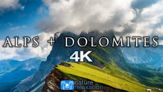 ALPS + DOLOMITES 4K Timelapse Aerial Nature Relaxation™ Film + Music for Stress Relief (23 Minutes)