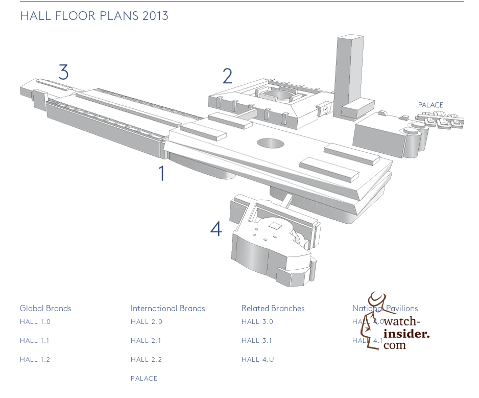 These are the just released, brand new hall floor plans of