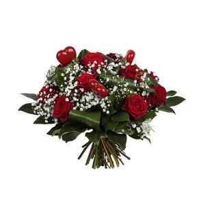 Boeket rode rozen | Vers en betaalbaar | Uwbloemenman.nl