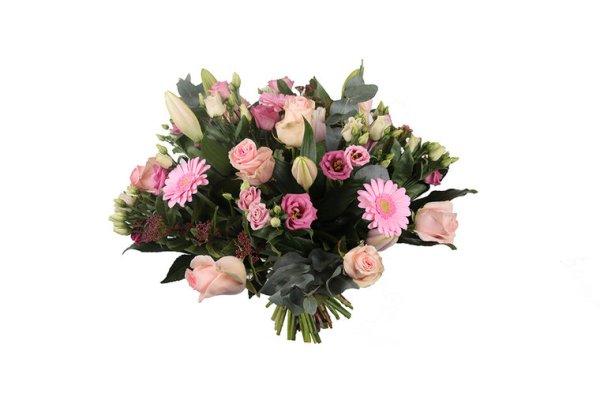kleurrijk roze boeket