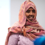 Sahra Abdi Executive Director UWEAST
