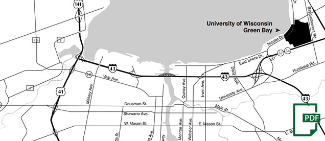 Maps  Directory  UWGreen Bay