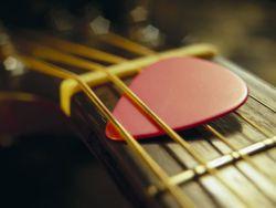 gitaar plectrum