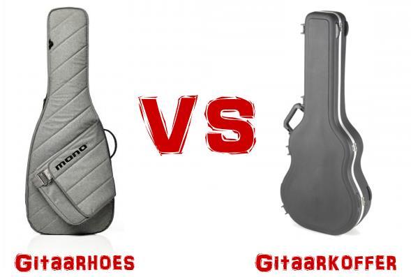 Gitaarhoes of gitaarkoffer