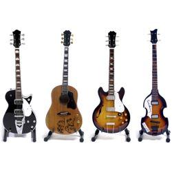 Miniatuur gitaar