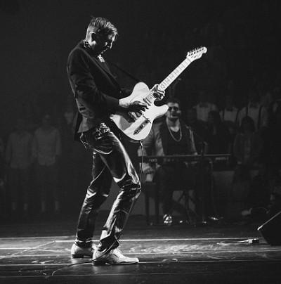 Optreden als gitarist