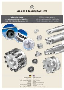 DTS-DIAMOND - CVD-D, PCD, CBN - Milling Cutter Systems | uWin - Portugal